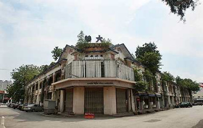 Image: There are many dilapidated buildings in George Town, 212 at last count, and a five-year plan is in the making to have them spick and span.