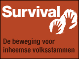 Afbeelding: Logo Survival International.